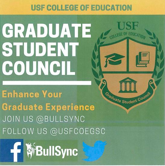 Graduate Student Council Flyer