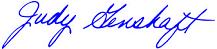 Genshaft's signature