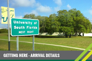 Arrival Details for your Orientation session