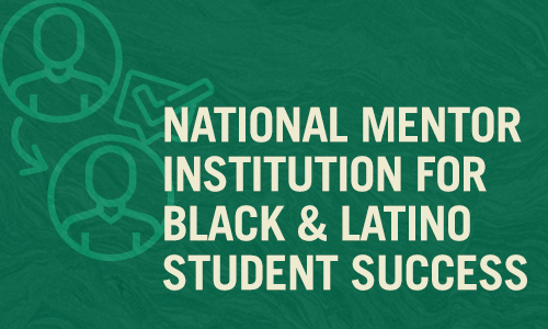 National Mentor Institution for Black and Latino Student Success