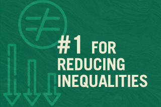 #1 for Reducing Inequalities