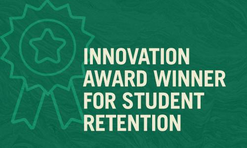 Innovation Award Winner for Student Retention