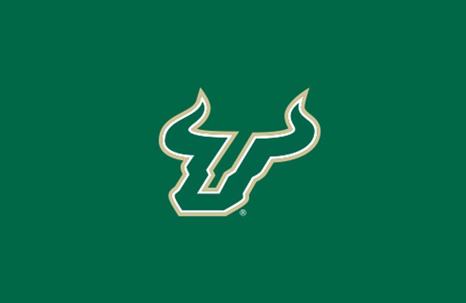Bull U on green background